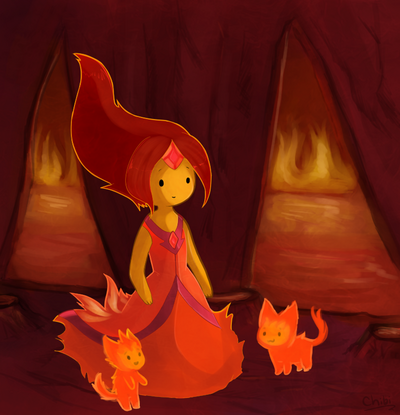 Flame-Princess-and-Flambits-adventure-time-flame-princess-32777163-773-802