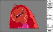 Modelsheet princessbubblegum - melty withrims