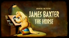 Titlecard S5E19 James Baxter the Horse