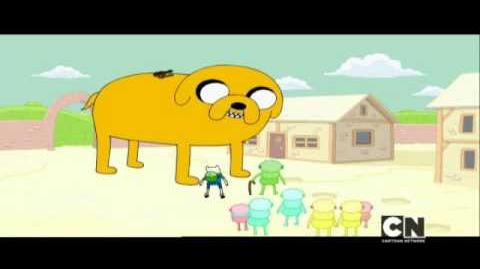 Ich bin der Goldfresser - Adventure Time Cartoon Network