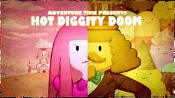 Hot diggity doom titlecard