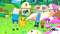S2e13 Mushroom Mayor berterima kasih kepada Finn dan Jake