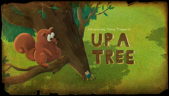 Up a Tree Title Card