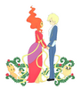 Hi-finn-x-flame-princess-adventure-time-with-finn-and-jake-34493389-900-990