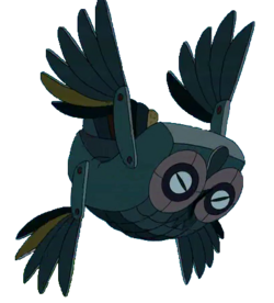 Железная сова