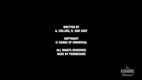 "Free Bird in the Style of ""Lynyrd Skynyrd"" with lyrics (no lead vocal)"
