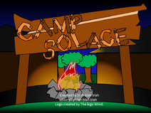 Camp solace logo.