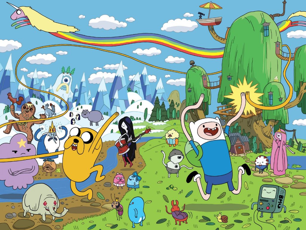 Image adventure time world wallpaperg adventure time with adventure time world wallpaperg altavistaventures Images