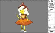 Princesa tostada