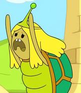 Turtle Princess sad