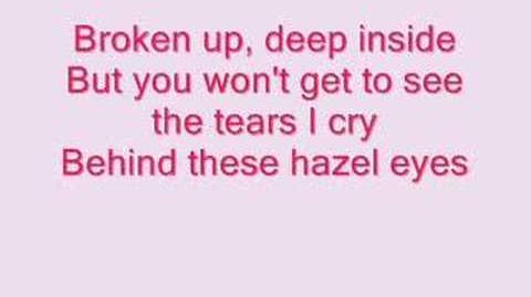 Kelly Clarkson- Behind These Hazel Eyes