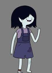 Marceline quando pequena