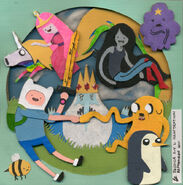 Adventure time papercraft fanart by jessicaxyl-d4q8jho
