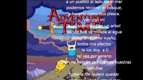 Hora de Aventura Island Song (Traducida al Español)