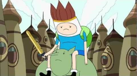 Canción 'Rey de los duendes' en esp. - El Rey silencioso - Hora de Aventuras - Cartoon Network