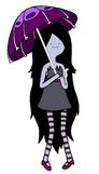 Marceline with her umbrella by pandaseatingcupcakes-d3el34v