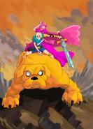 Slammacow adventure time by strikexi-d390056