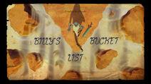 Billy's Bucket List