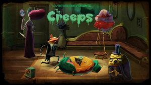 The Creeps Title Card