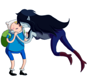 Finn and marceline by tarmie-d4pko7l