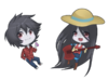 At marshall lee and marceline by tuliblu-d4gzydu