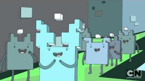 Adventure Time - Adventure Time Cube People
