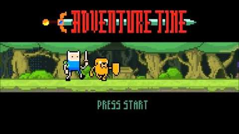 Adventure Time The Game intro