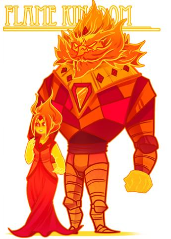 Flame King Adventure Time Super Fans Wiki Fandom