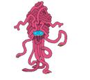 Snake Armed Ruby Brain Beast