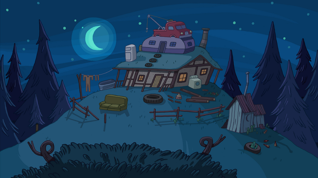 Ash's house   Adventure Time Wiki   FANDOM powered by Wikia