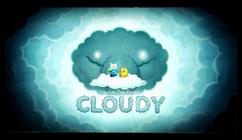 Titlecard S8E19 cloudy