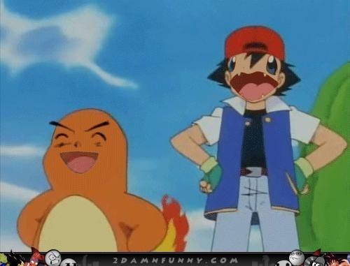 Ash Ketchum Charmander Pokemon Face Swamp Jpg