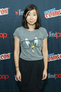 Niki Yang at New York Comic Con