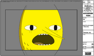 Modelsheet Earl of Lemongrab - Close Up