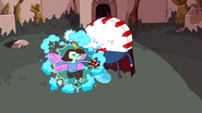 S6e15 Peppermint Butler transforming Peace Master's daughter