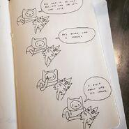 Short Finn comic by writer and storyboard artist Steve Wolfhard