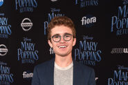 Sean Giambrone at Disney's Mary Poppins Returns World Premiere