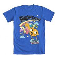 Shmowzow blue shirt