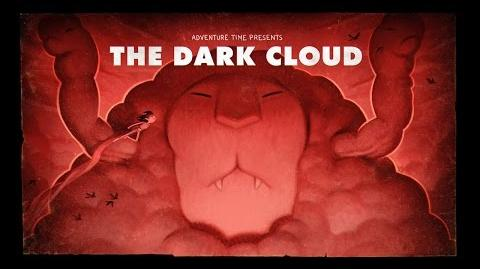 Adventure Time Title Card Painting Process - The Dark Cloud