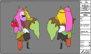 Modelsheet princessmonsterwife-daycolor