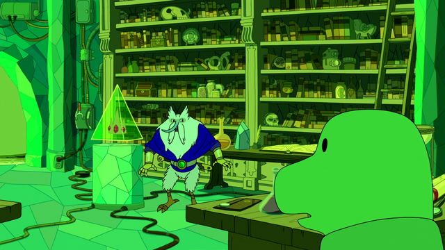 File:S6e24 Gunther entering Evergreen's lab.png
