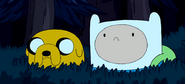 S3e3 Finn n Jake in bush