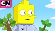 Adventure Time Lemongrab Tries To Plant A Tree In Minecraft Cartoon Network