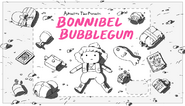 Bonnibel Bubblegum title card design by Hanna K. Nyström