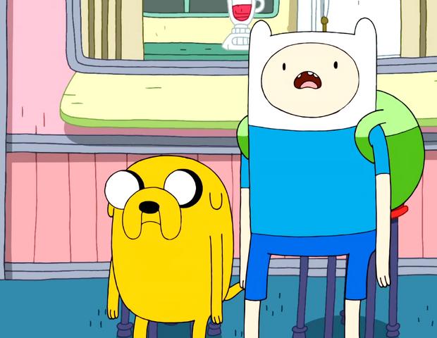 File:S3e3 Finn and Jake shocked at Marceline2.png