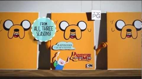 Adventure Time - It Came From the Nightosphere (DVD promo)