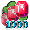 At gamecreator 1000gems off