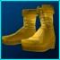 Gold Marauder Boots