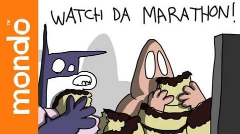 Baman Piderman - Watch Da Marathon!