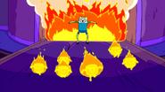S2e18 Marshmallow Kids on fire